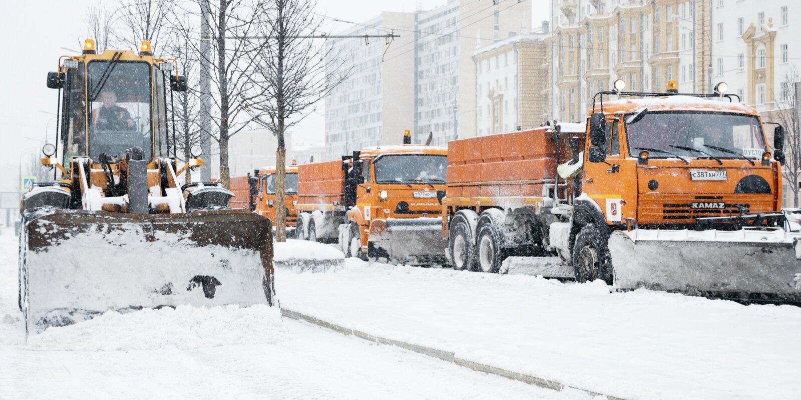 Главные вопросы про уборку снега в городе