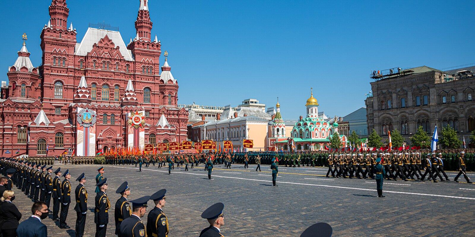 Москва отмечена благодарностью национальной премии «Победа»