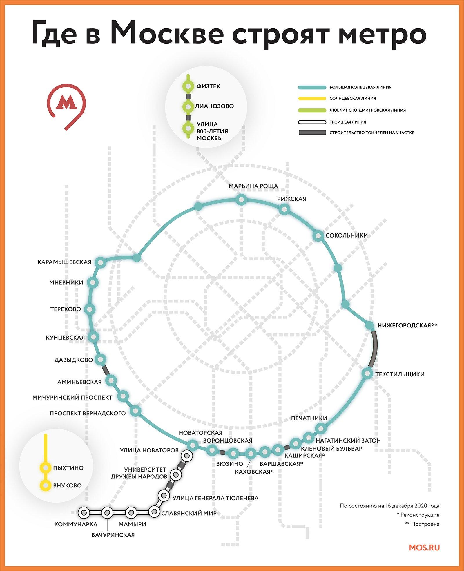 На Ленинском проспекте создадут транспортно-пересадочный узел