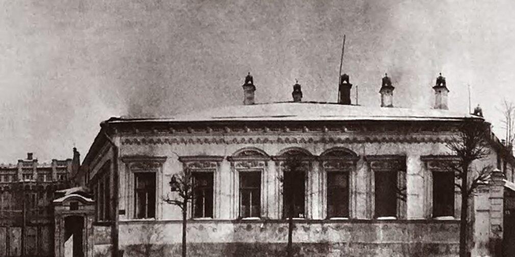 Как менялась городская усадьба Новикова — Давыдова