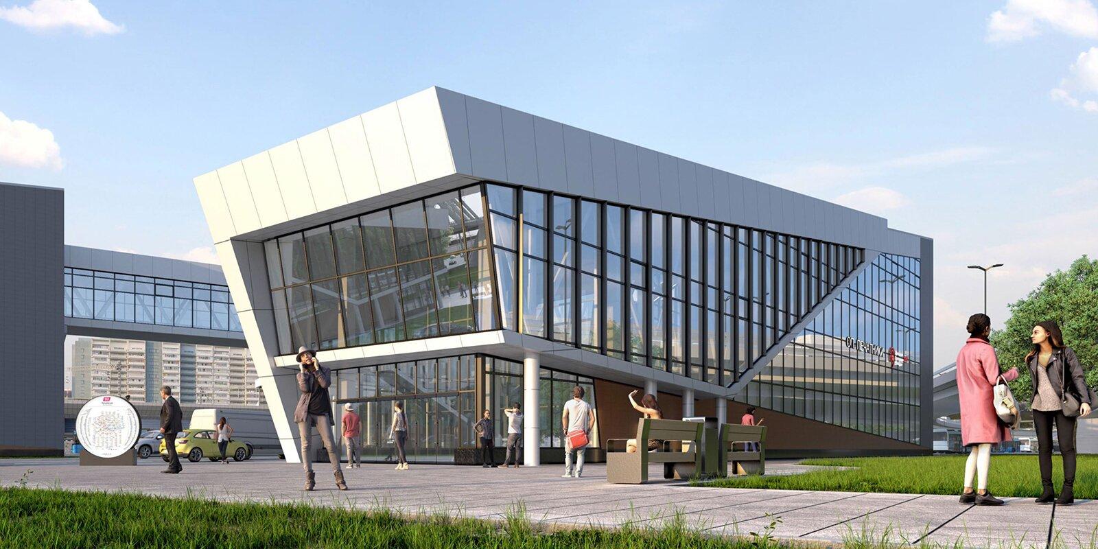 Станцию МЦД-2 Печатники планируют открыть к осени 2021 года