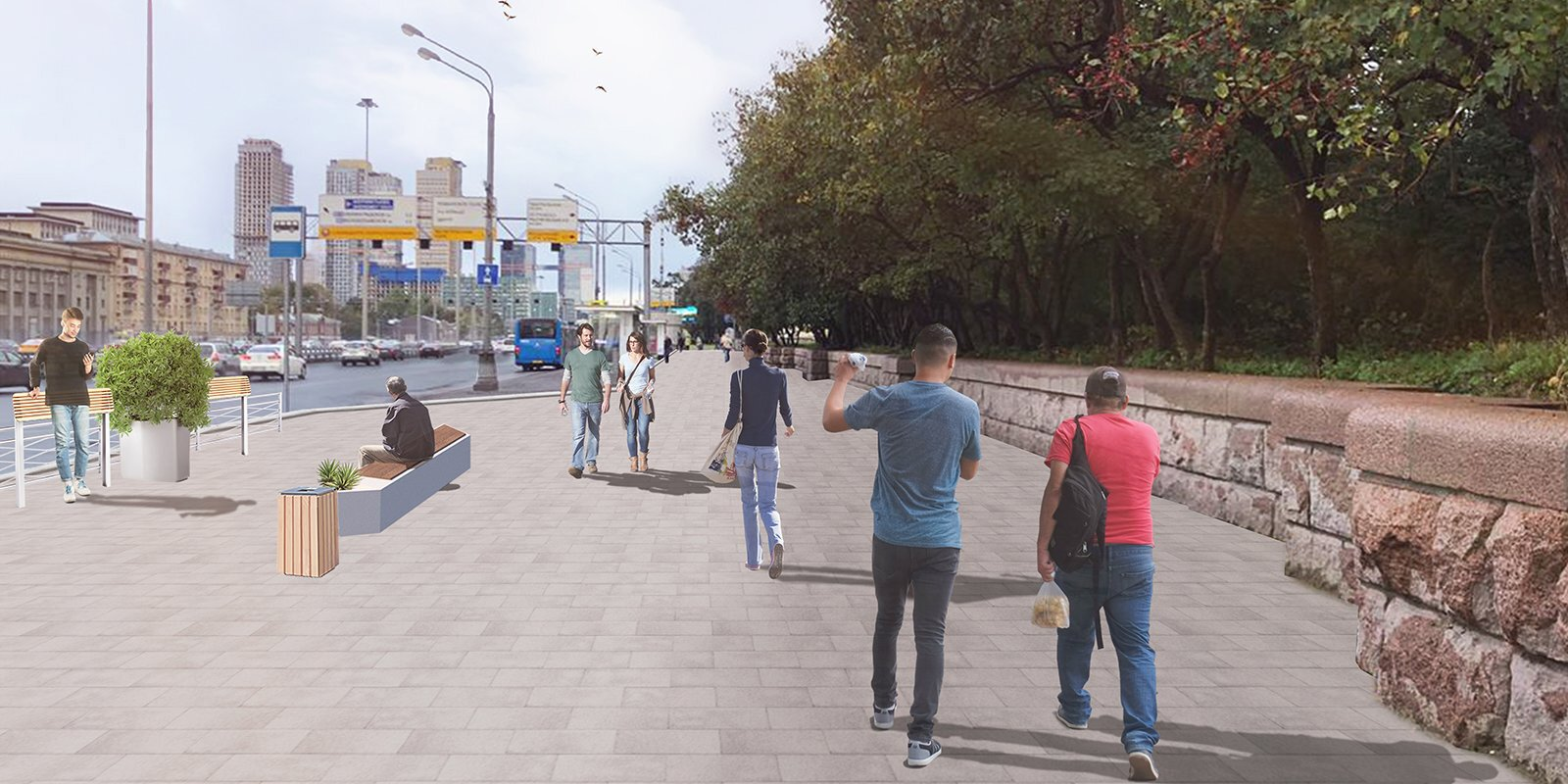 Территорию возле 13 станций метро благоустроят
