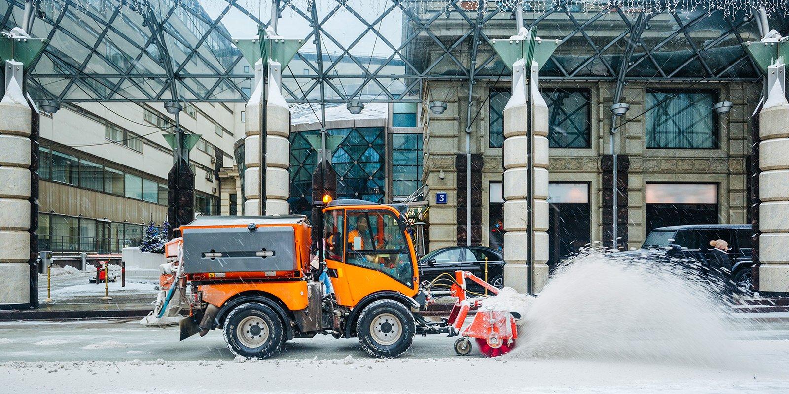 В Москве заработал оперативный штаб для координации городских служб в снегопад и морозы
