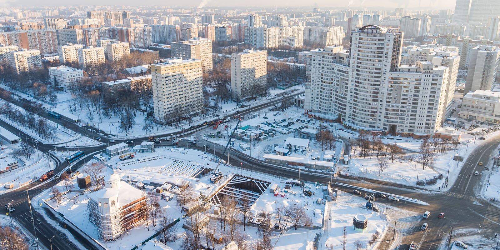 Реконструкцию станции «Каховская» завершат в этом году