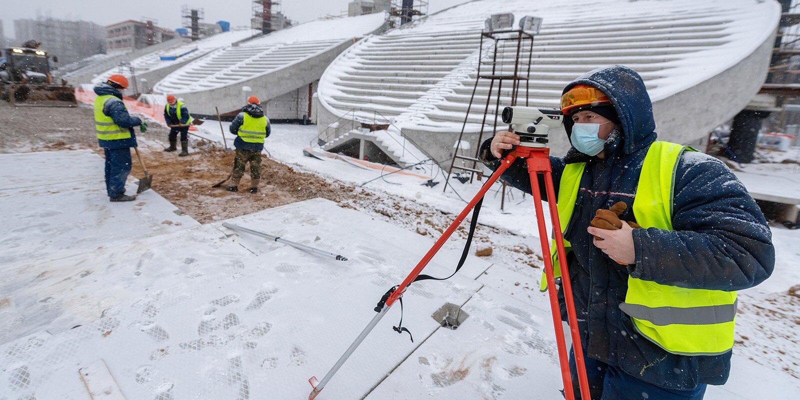 Сергей Собянин: Реконструкция стадиона «Москвич» завершится в 2022 году