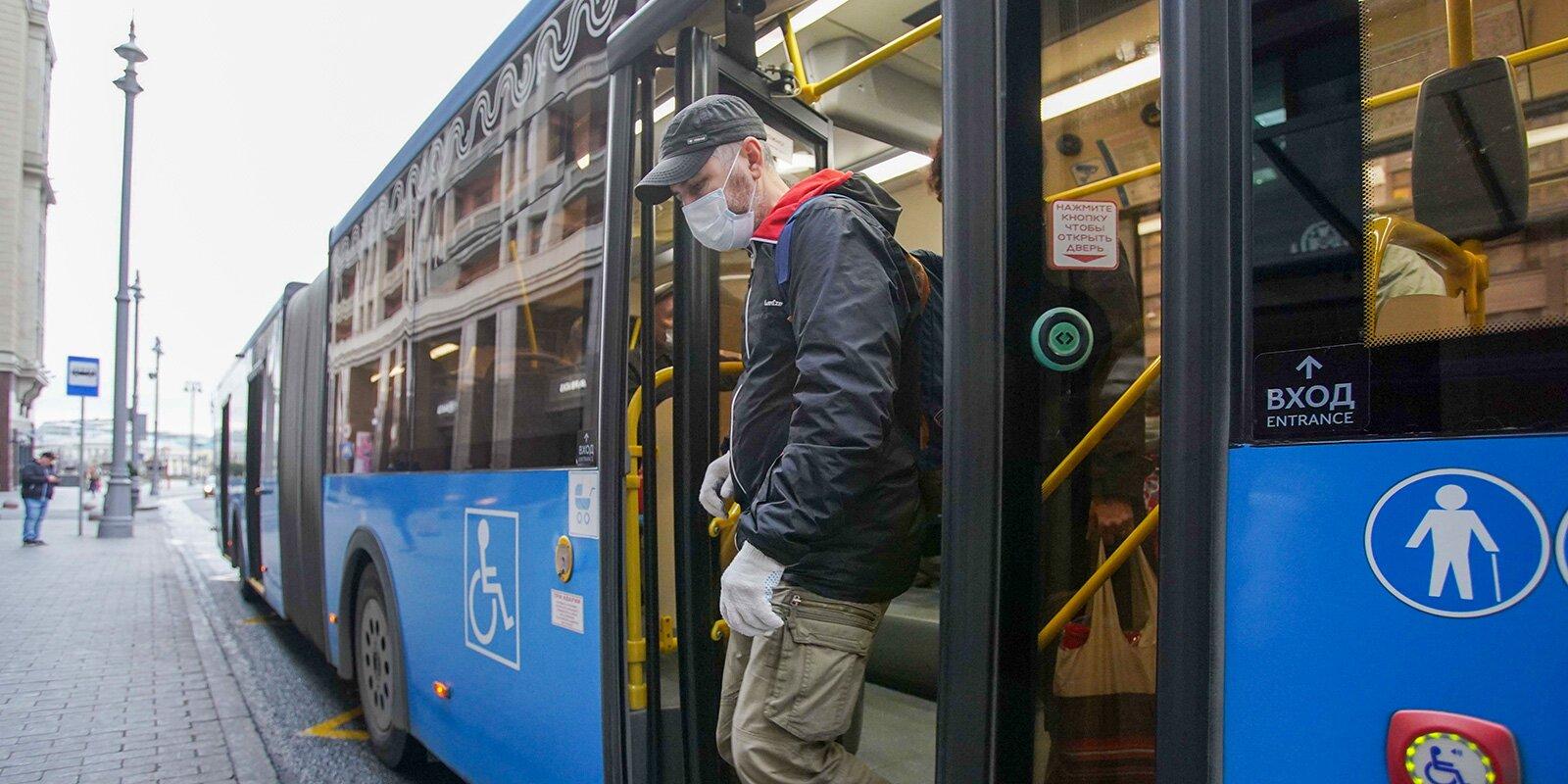 Темпы развития общественного транспорта Москвы в 2020 году сохранились, несмотря на пандемию