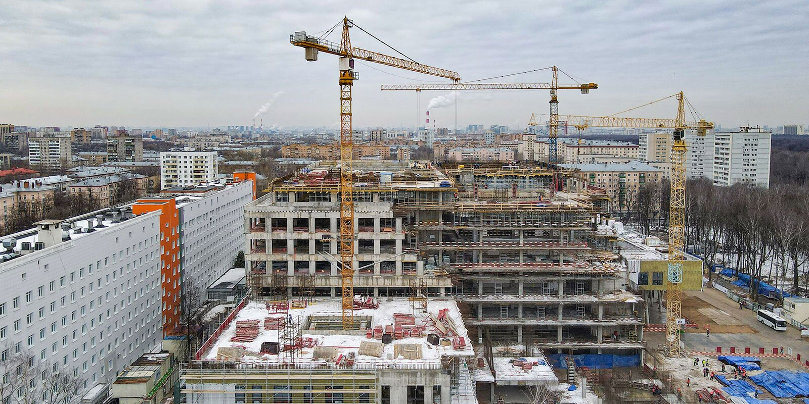 Сергей Собянин рассказал о строительстве медицинских объектов в Москве