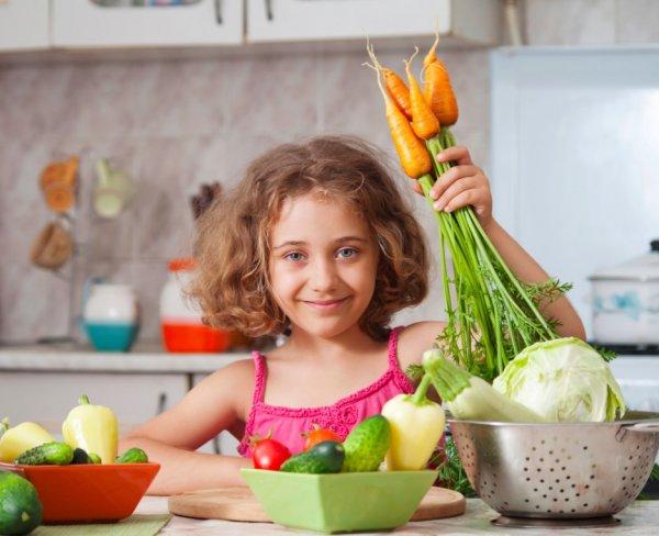 Врач-диетолог составил диету для ребенка-вегетарианца