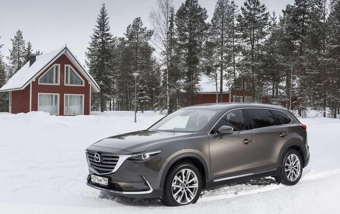 Mazda назвала все цены на кроссовер CX-9