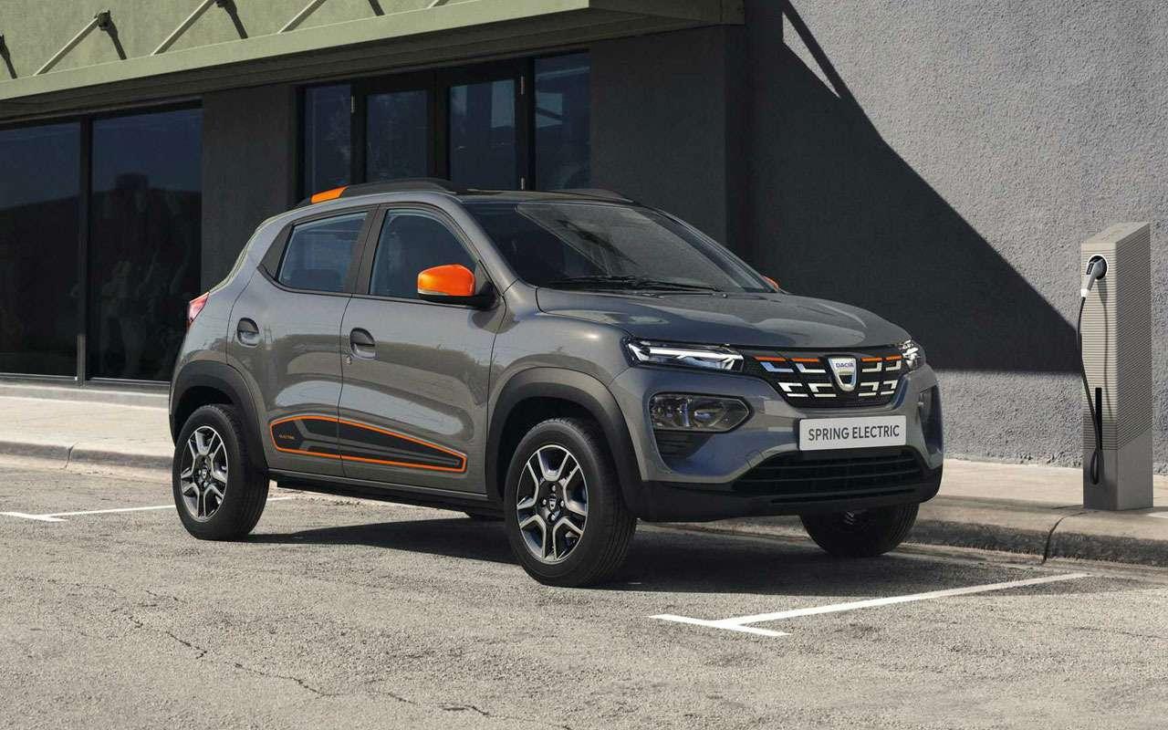 Renault показала мини-кроссовер Spring