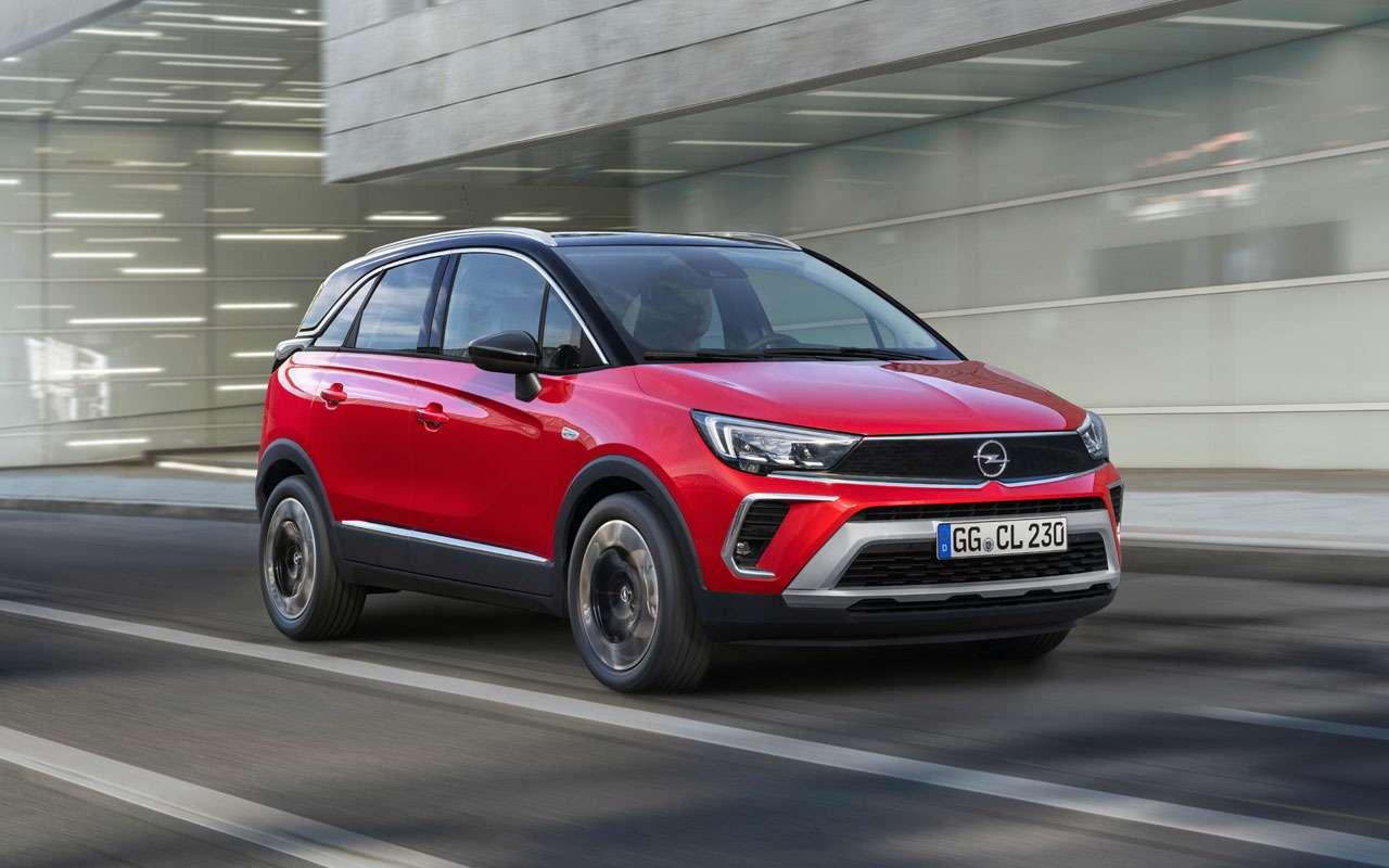 Opel везет в РФ еще один кроссовер — Crossland