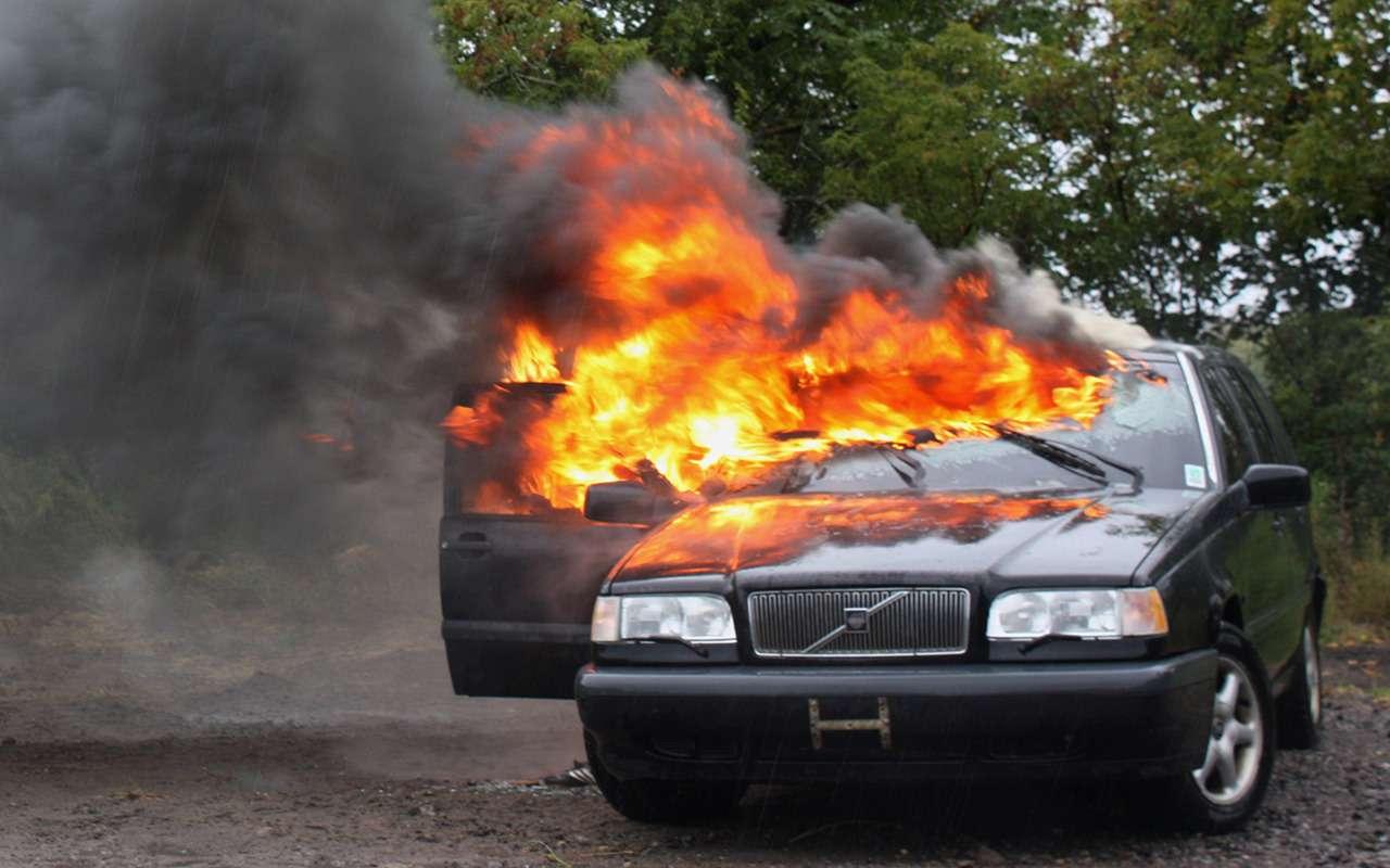 Берегитесь: 5 причин, из-за которых машина может загореться