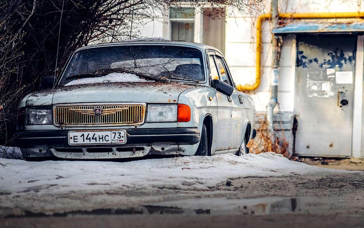 Наши машины стареют, но в этом есть один плюс