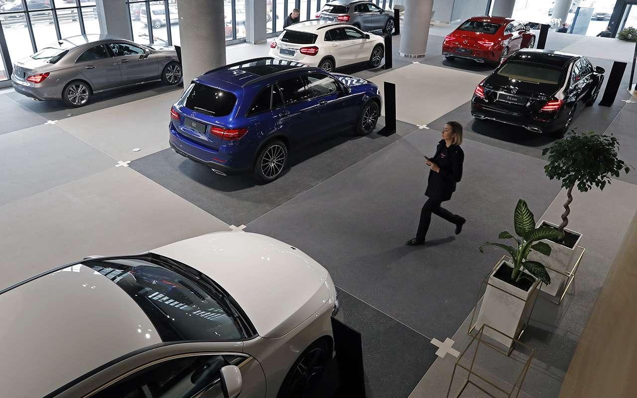 Премиальных и люксовых авто купили меньше (Обновлено)