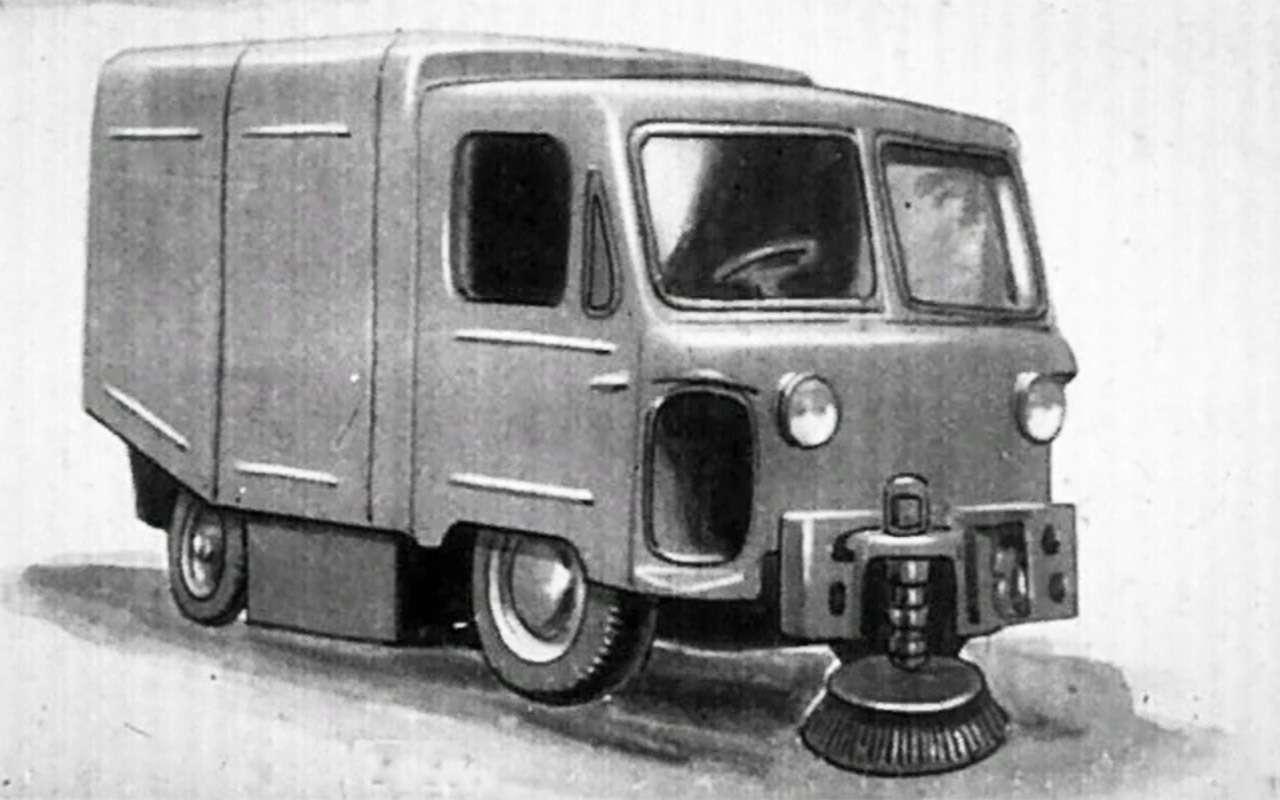 Забытые автопроекты СССР: дворник на колесах