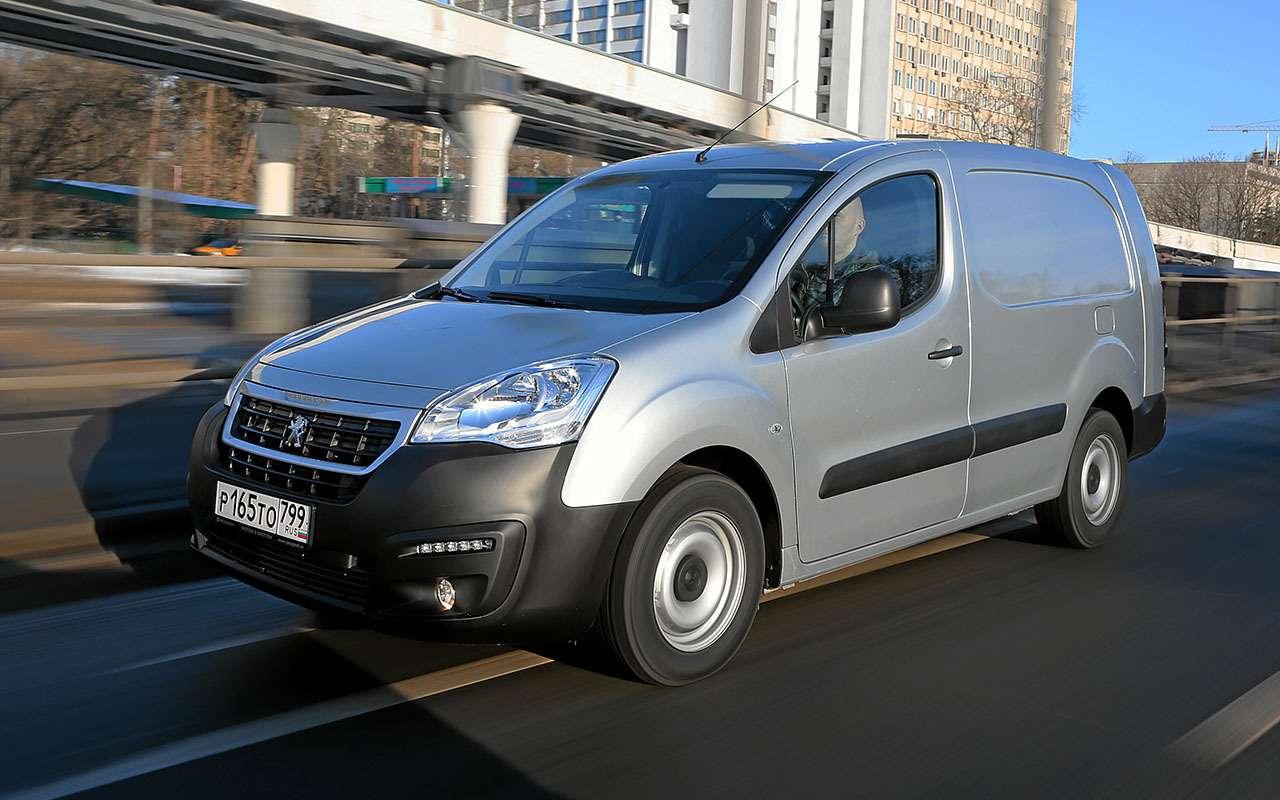 Peugeot Partner российской сборки: 5 плюсов и 2 минуса