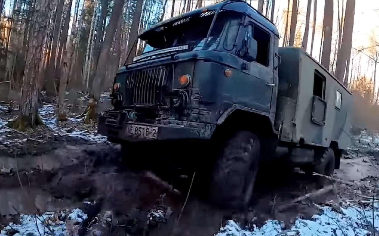 Вот это настоящая машина для России: ГАЗ-66 с дизелем Iveco
