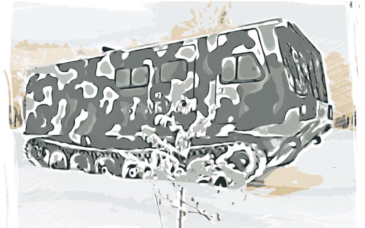 Брабус по-российски: из запчастей Минобороны