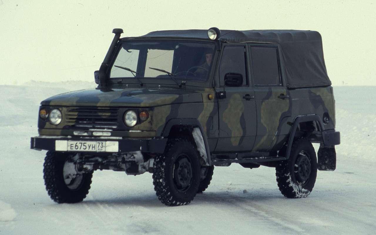 Неизвестный УАЗ-3172: на «козла» совсем не похож