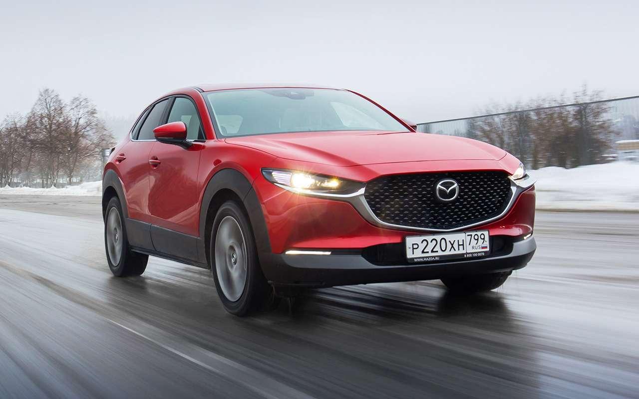 Mazda CX-30: все достоинства и изъяны
