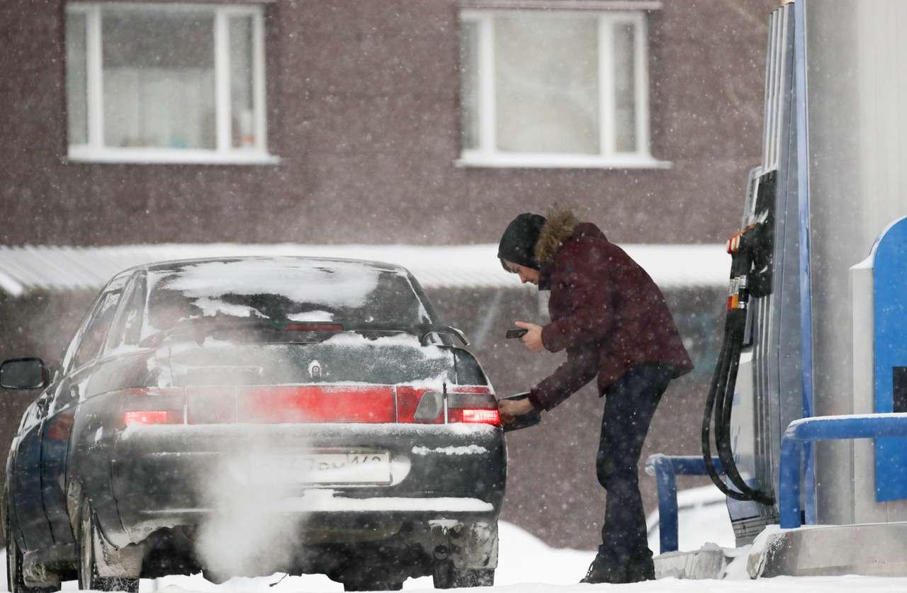В России выросли цены на бензин и дизтопливо