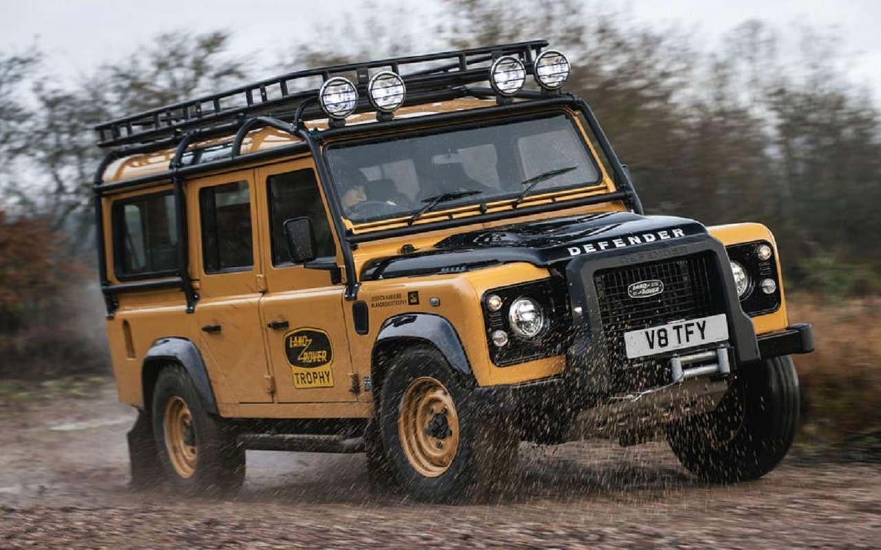 Land Rover возвращает в продажу старые Дефендеры