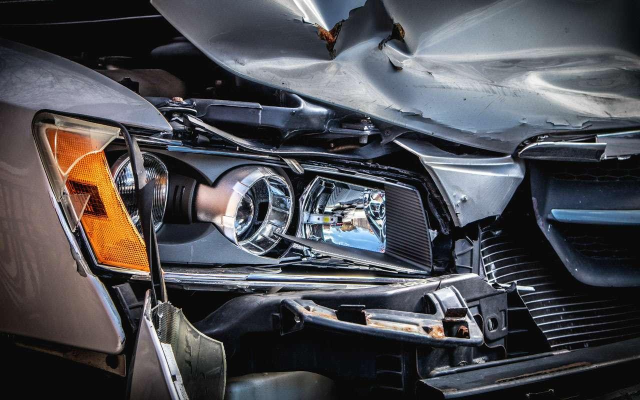 Какие машины попадают в ДТП чаще других