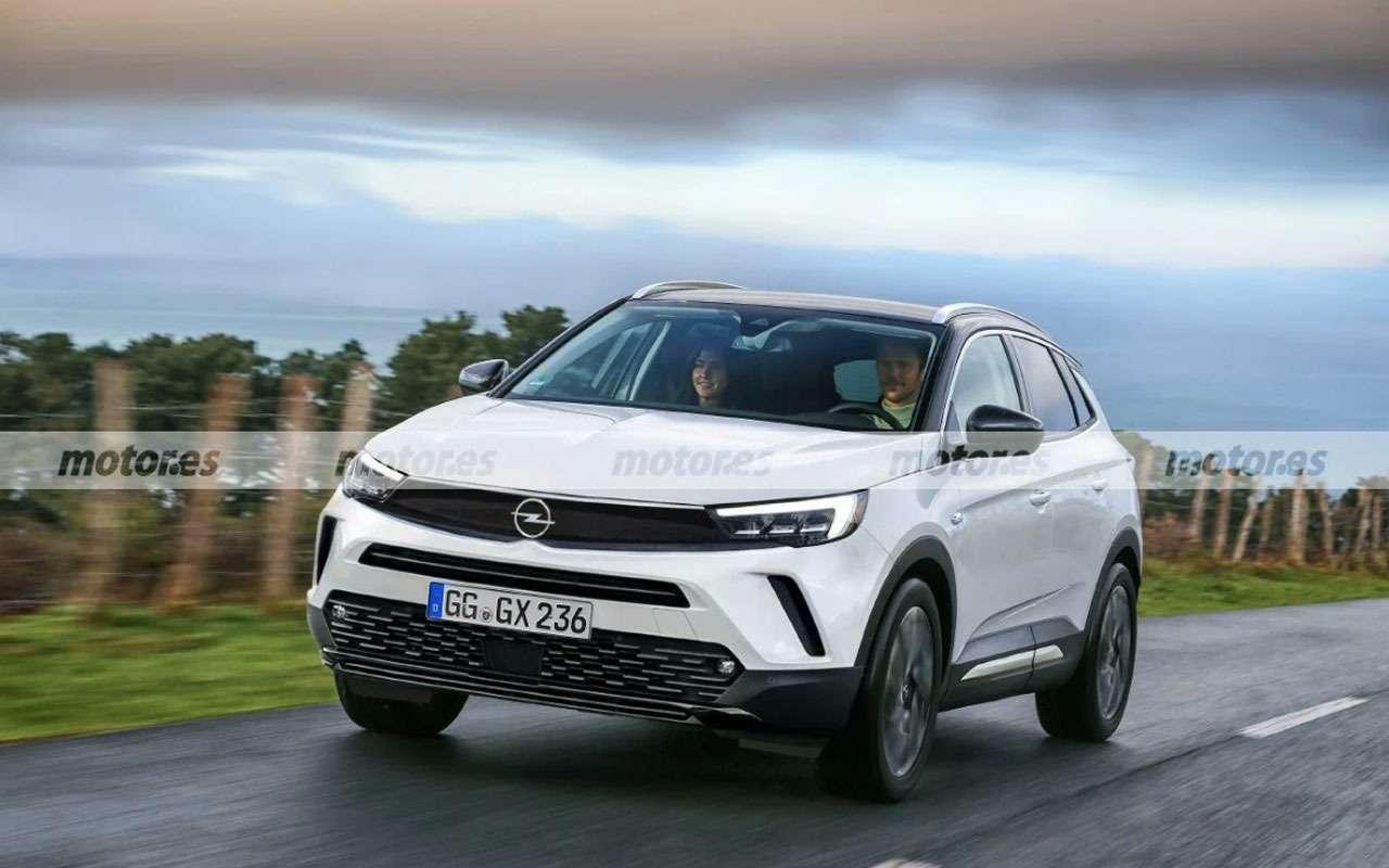 Opel Grandland Х обновится и подправит имя