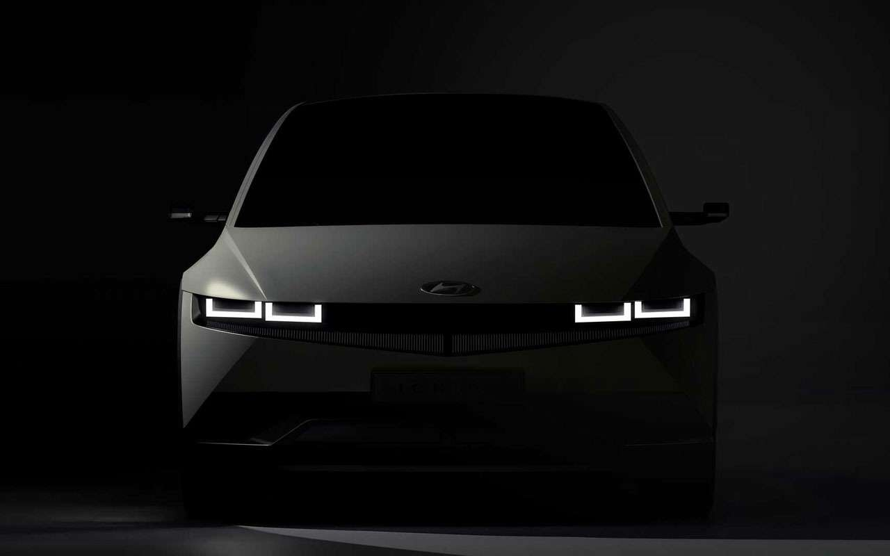 Hyundai опубликовала первые фото кроссовера Ioniq 5