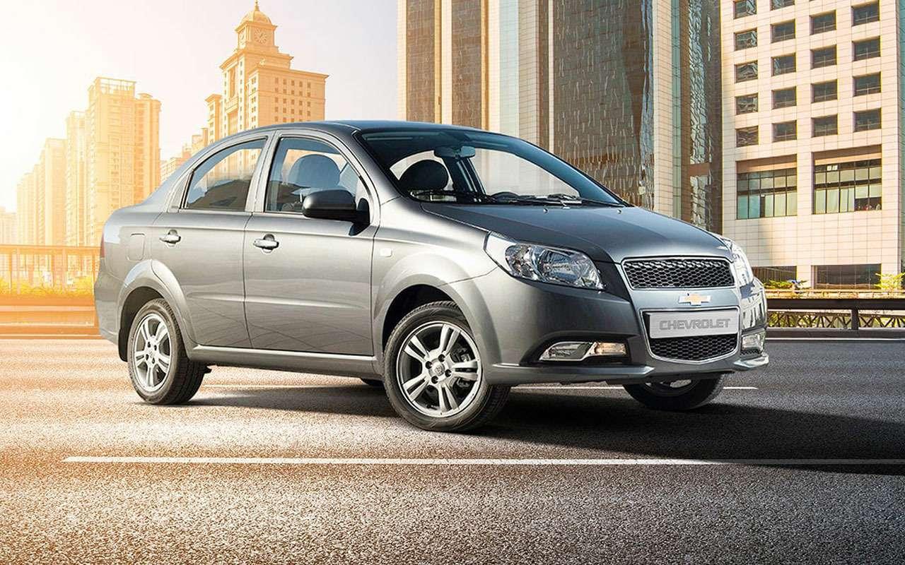 Chevrolet начал распродажу Nexia и Cobalt