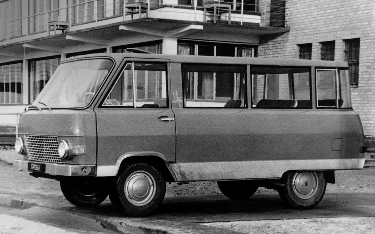 Тот самый «рафик»: полная история главного микроавтобуса СССР