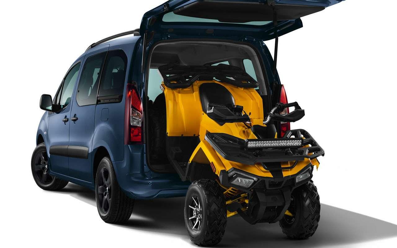 Peugeot начал продажи нового внедорожного Партнера