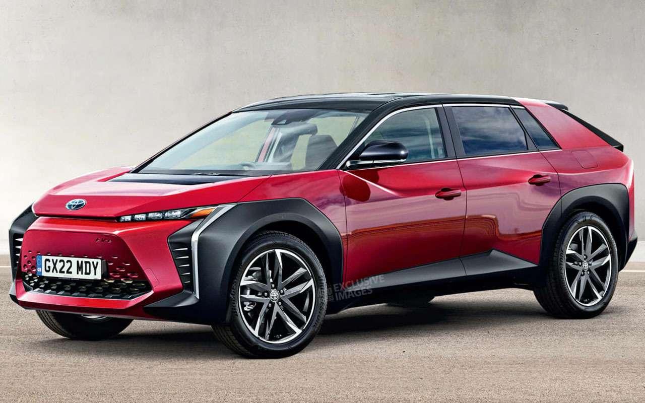 Новая Toyota BZ — кроссовер, который заменит RAV4