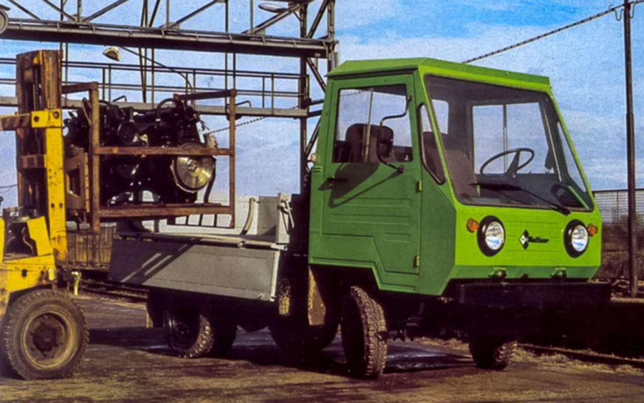 Грузовики и автобусы из ГДР — они возили весь Союз