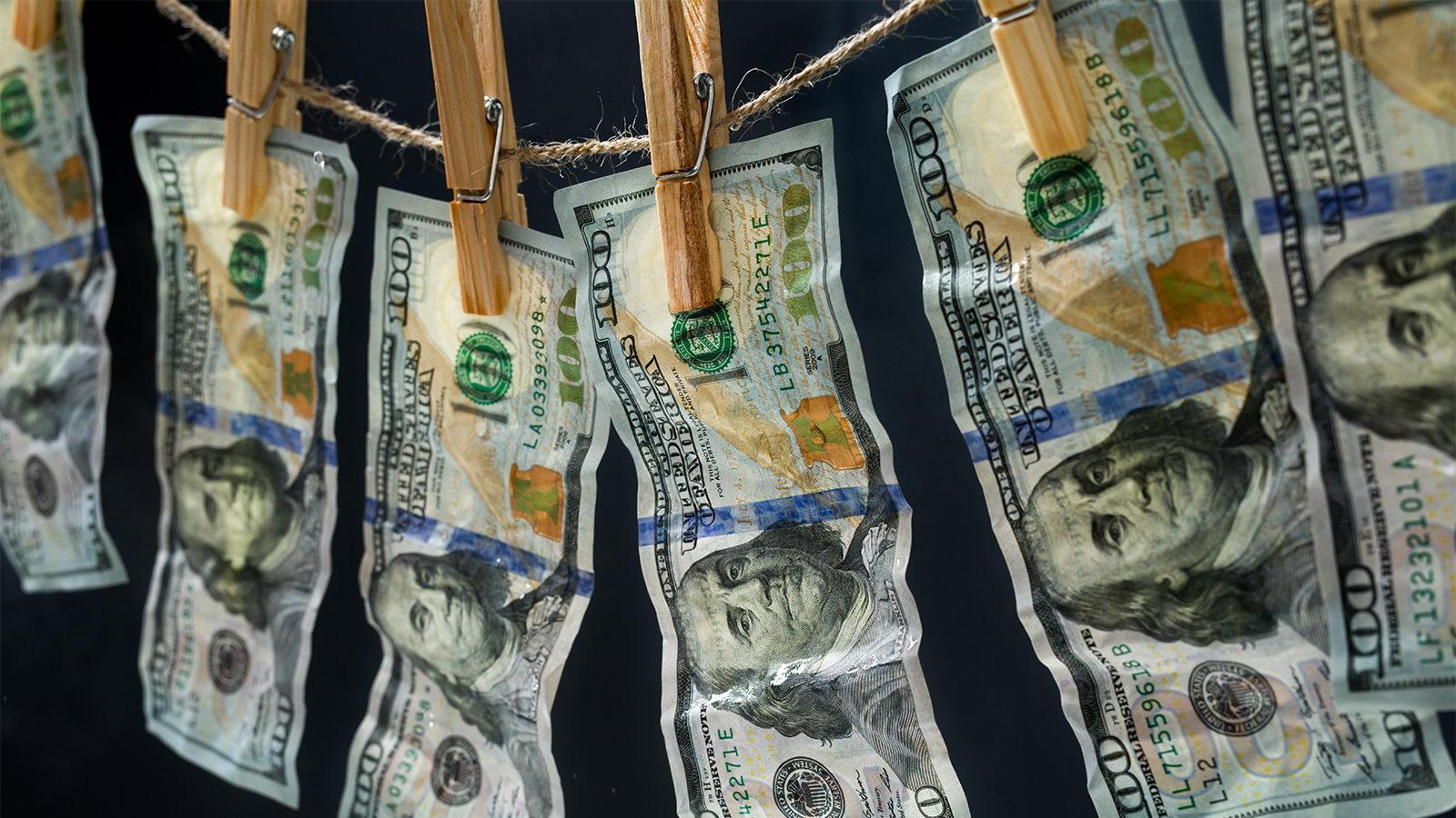 В 2020 году количество попыток отмывания денег возросло в четыре раза