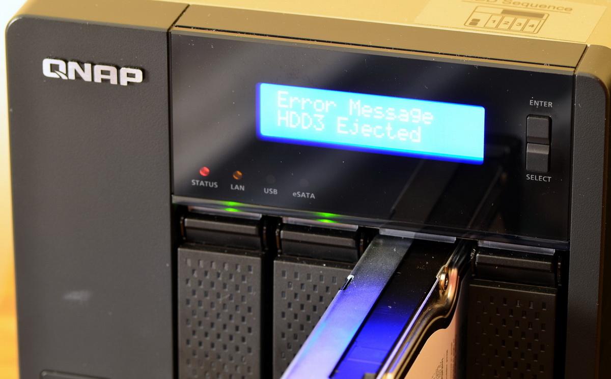 В устройствах Qnap исправили критический баг, связанный с резервным копированием