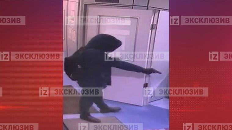 Фото преступника, ворвавшегося в банк Москвы с оружием