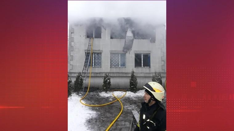 Пятнадцать человек погибли при пожаре в харьковском доме престарелых