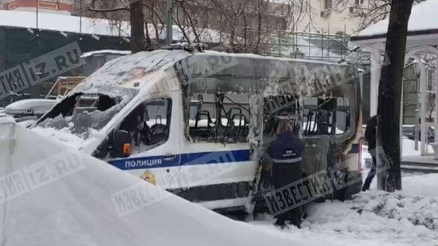 Подозреваемый в поджоге машины Росгвардии задержан в Москве