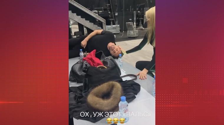 «Я как лошадь скаковая!» — Лазарев показал, как устает на тренировках «Танцев со звездами»