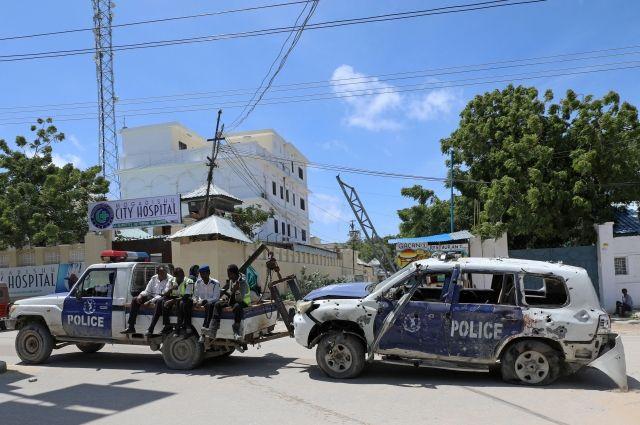 Боевики атаковали несколько баз миссии Африканского союза Сомали