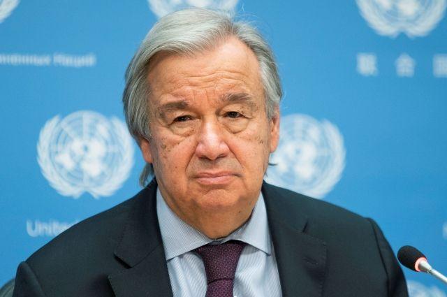Генсек ООН прогнозирует сильнейший за 80 лет экономический спад