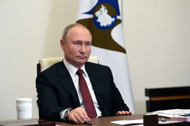 Путин рассказал о сотрудничестве стран ЕАЭС в борьбе с COVID-19