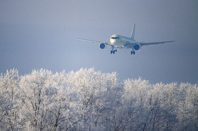 Летает, черт возьми. МС-21 совершил первый полет с российскими двигателями
