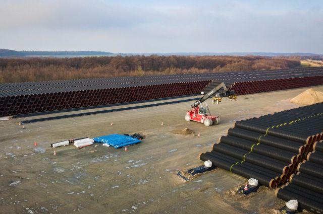 Сухопутная часть газопровода «Северный поток - 2» готова к вводу
