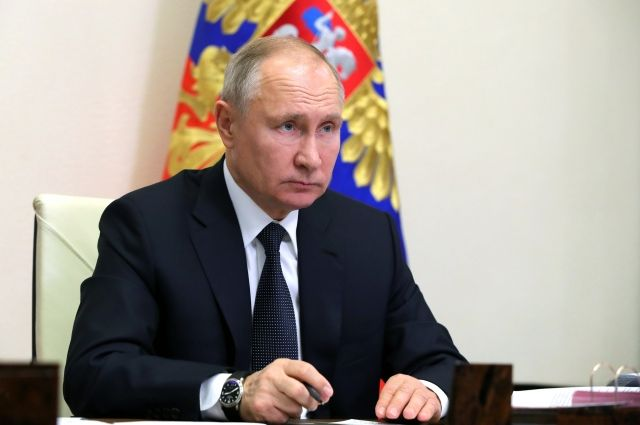 Путин заявил о неизменности повестки развития страны, несмотря на пандемию