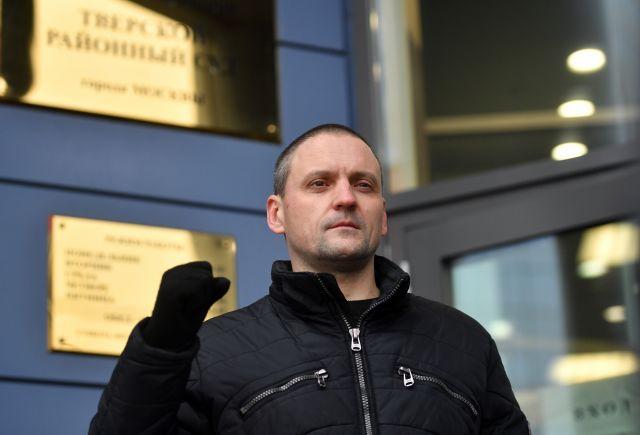 Удальцов арестован на 10 суток за несогласованную акцию
