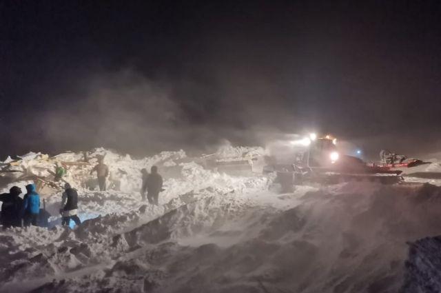 В МЧС прокомментировали возможность второго схода лавины в Норильске