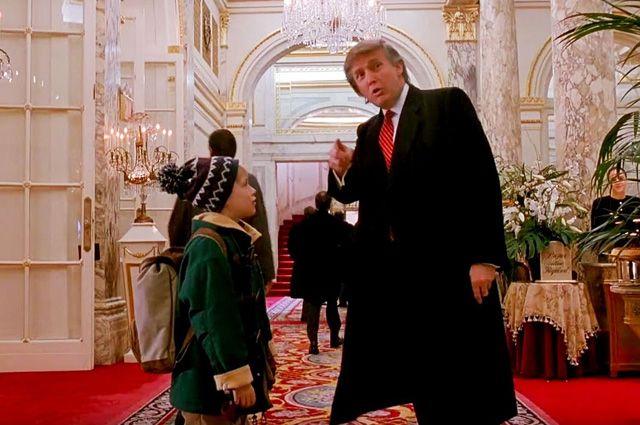 Попал в опалу. Трампа потребовали убрать из «Один дома 2»