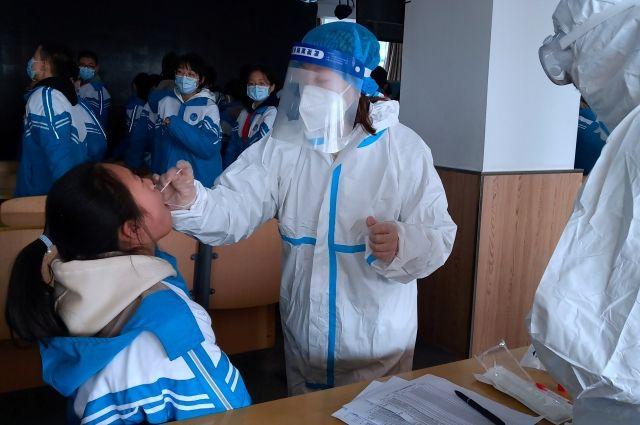 В КНР за сутки зарегистрировали 55 новых случаев COVID-19